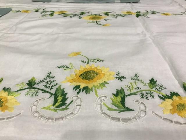 Sunflowers, table cloth