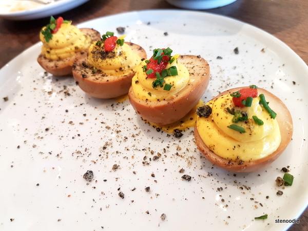 Deviled Tea Eggs