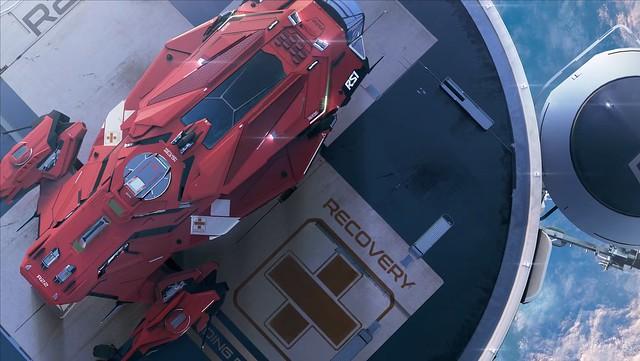Зоряний громадянин - медичний корабель Аполлона