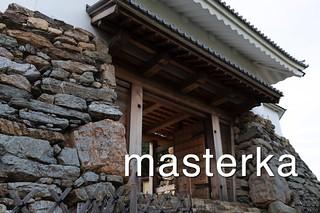 浜松城の門