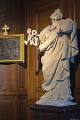 Statue de saint Pierre apôtre.