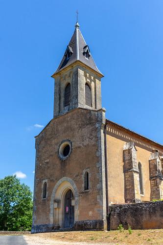 Église Saint-Romain de Lastreilles