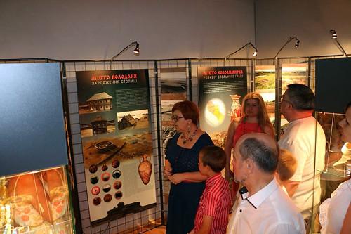 Відкриття виставки «Стольний град Звенигород – повернення із небуття»