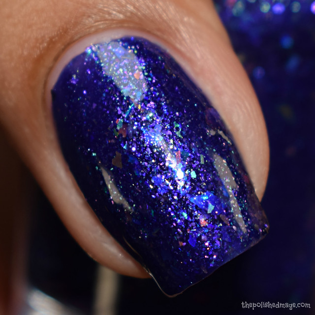 seventy seven nail lacquer when night is blind 3