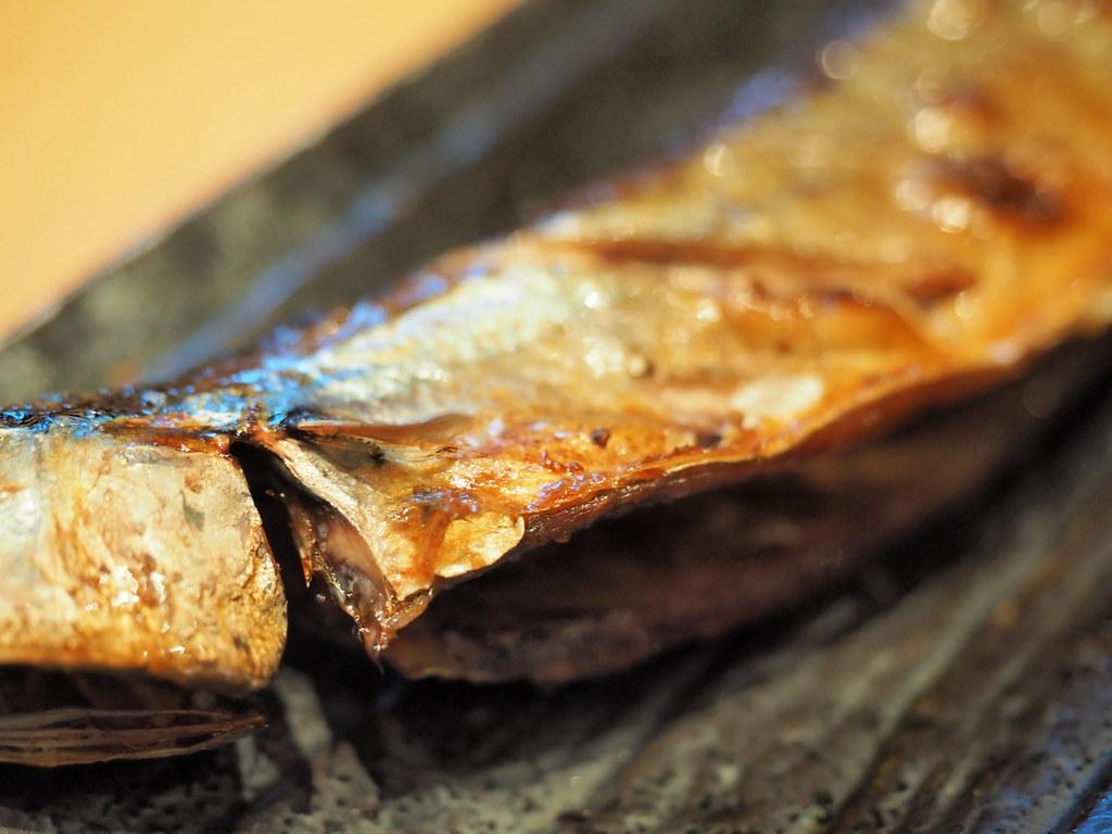 Sanma fish from Rakuzen's Yakizakana Zen (Grilled Fish Set)