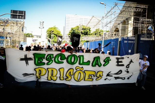 Somente o Tribunal de Justiça de São Paulo expediu 13.887 mandados de prisão com base na nova jurisprudência do STF - Créditos: Levante Popular da Juventude