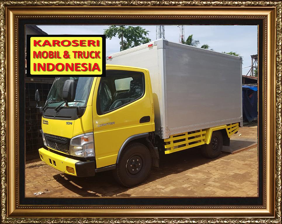 Karoseri Mobil & Truck Box Alumunium