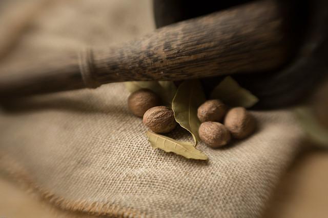 Still Life with Nutmeg