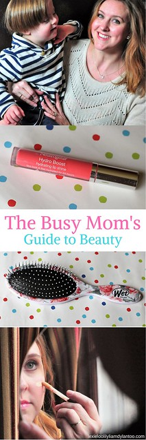 The Busy Mom's Guide To Beauty - 15 Time-saving Products I LOVE! #beauty #makup #beautyproducts #momblogger #beautyblogger