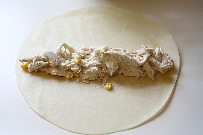 Creamy Chicken Jalapeño Flautas