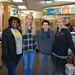 The Friday morning meeting had a field trip to The UPS Store where our RYLA Ambassadors were dropped off for their weekend at RYLA. Two students from Sanderson and two from Millbrook were chosen this year.