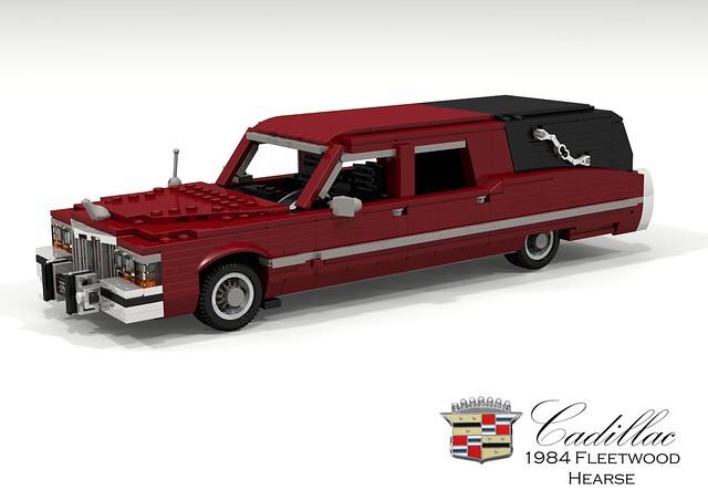 Cadillac 1984 Fleetwood Hearse