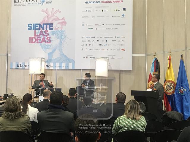 """""""Escenarios y desafíos de la Seguridad Multidimensional en Colombia"""", nueva publicación ESDEGUE presentada en FILBO 2018."""