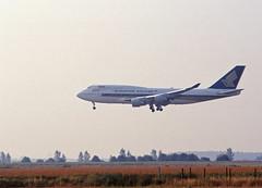 Berlin SXF 2002 Singapur Airlines Megatop Boeing 747-400