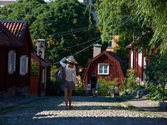 Jours d'été à Stockholm : les maisons de bois de Södermalm