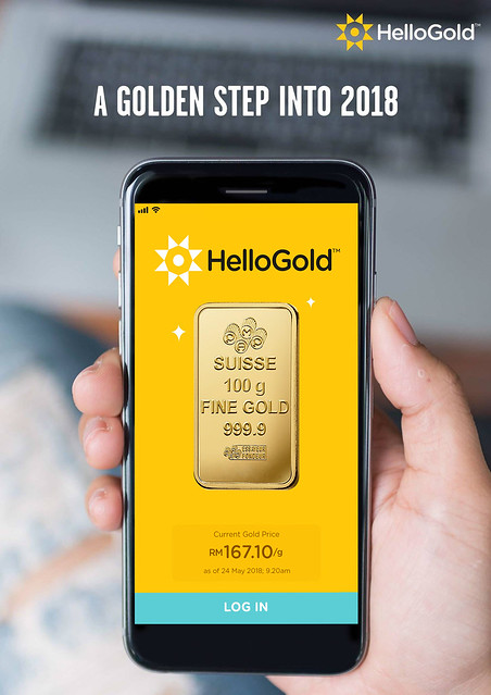 HelloGold Application