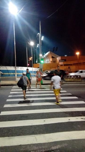 08.08.18 Faixa de pedestre com iluminação a LED chega a Cosme Ferreira