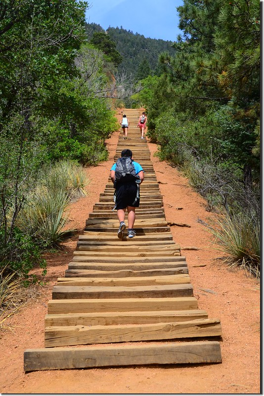 The Manitou Incline, Manitou Springs (1)