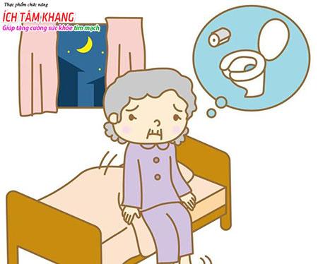 Tiểu nhiều về đêm, suy thận rất thường gặp ở người bệnh suy tim