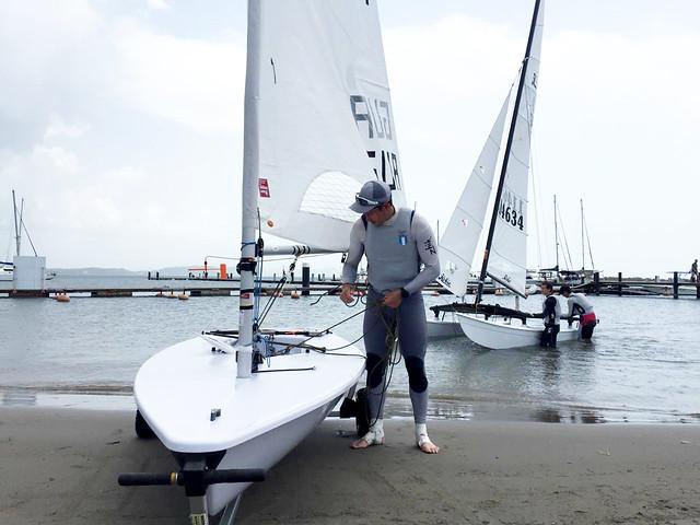 Maegli navegó al oro en Barranquilla 2018