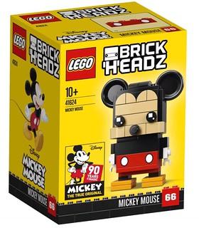 大耳朵也太療癒了吧~~ LEGO 41624、41625 BrickHeadz 系列【米奇、米妮】Mickey Mouse、Minnie Mouse