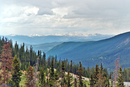landscape scenery mountainrange mountains valley forest clouds breckenridge colorado unitedstates
