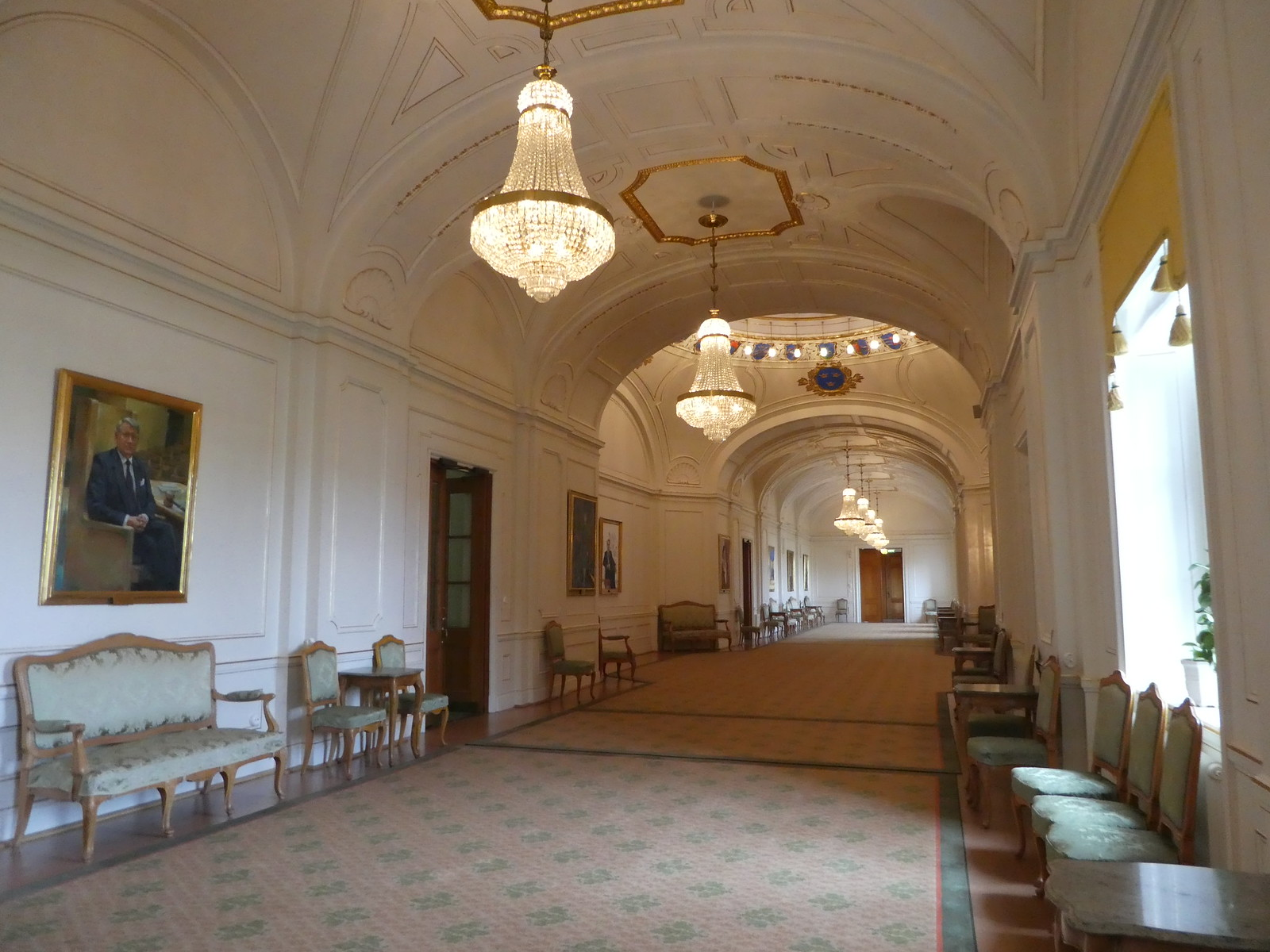 The Grand Gallery,  Swedish Parliament