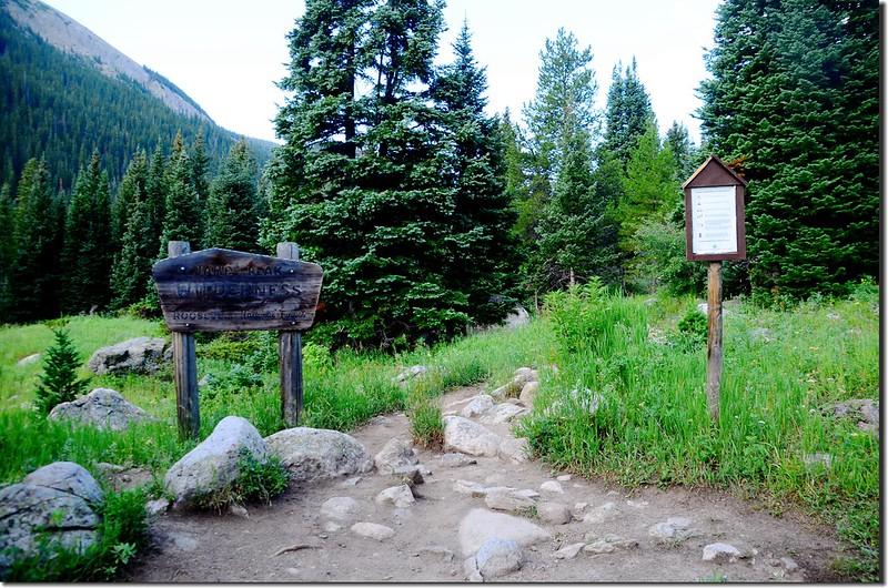 James Peak Wilderness backcountry board