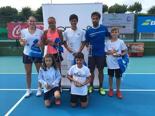 79º Campeonato Gallego Absoluto de Tenis, Campeonato Gallego Benjamín y Campeonato Gallego Tenis Silla 2018