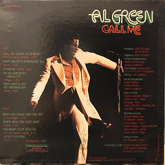 AL GREEN:CALL ME(JACKET B)