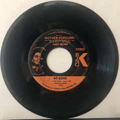 JAMES BROWN:MOTHER POPCORN(RECORD SIDE-B)