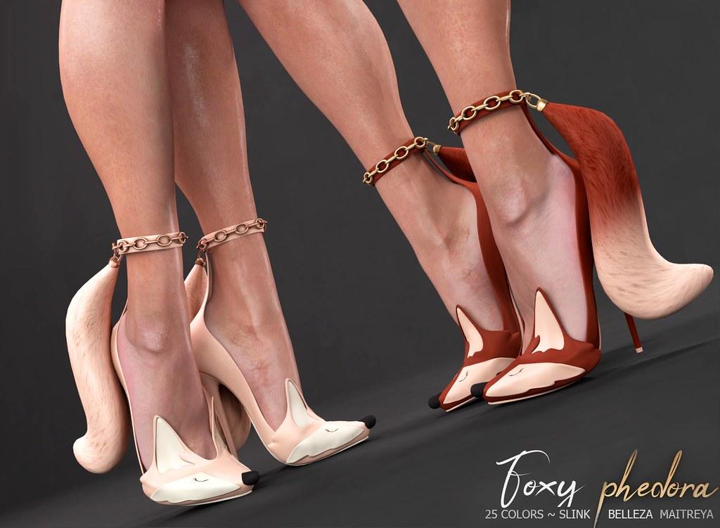 "Phedora. for Collabor88 - ""Foxy"" heels ♥ - TeleportHub.com Live!"