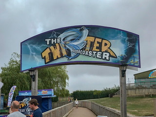 Photo 1 of 5 in the Twister Rollercoaster gallery