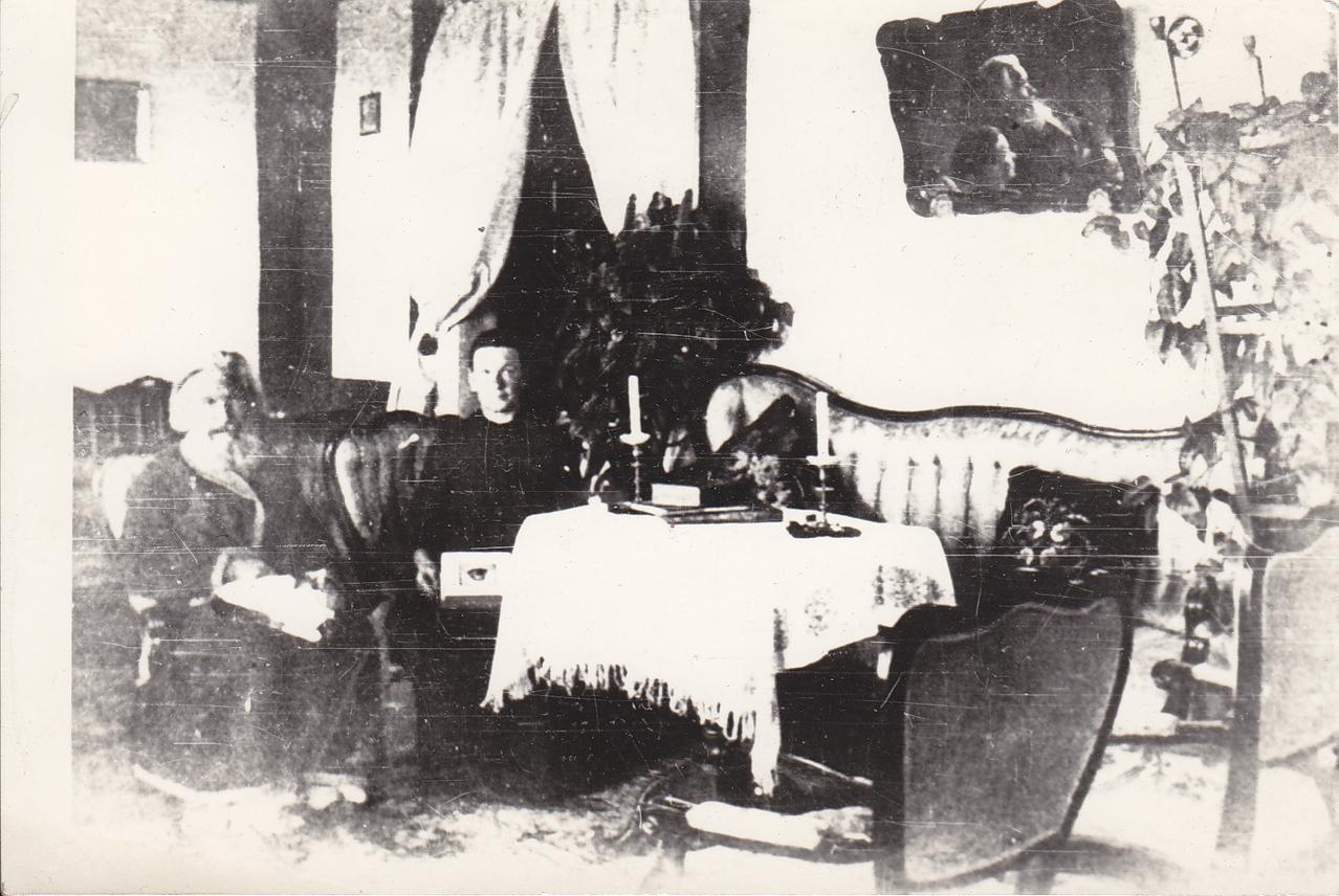 Интерьер дома В. П. Сукачёва