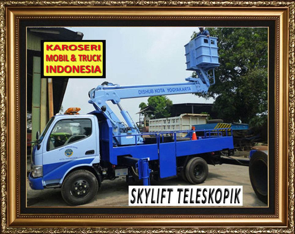 Karoseri Mobil & Truck - Skylift - PJU