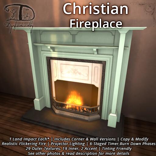 Christian Fireplace - TeleportHub.com Live!