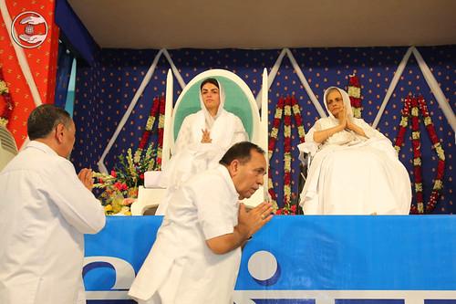 Welcome by Members Executive Committee, S.L. Khurana Ji and Radhey Shyam Ji