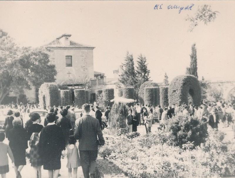 Romería del Cigarral del Santo Ángel Custodio en 1962. Fotografía de Julián C.T.