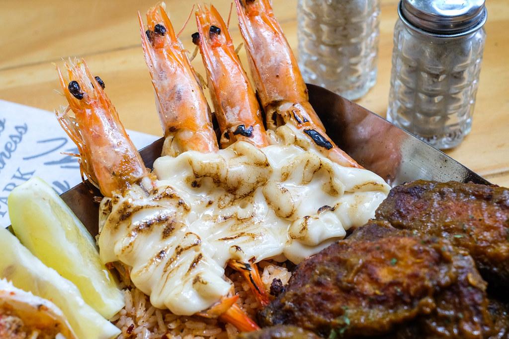 曼哈顿鱼市-火焰明虾