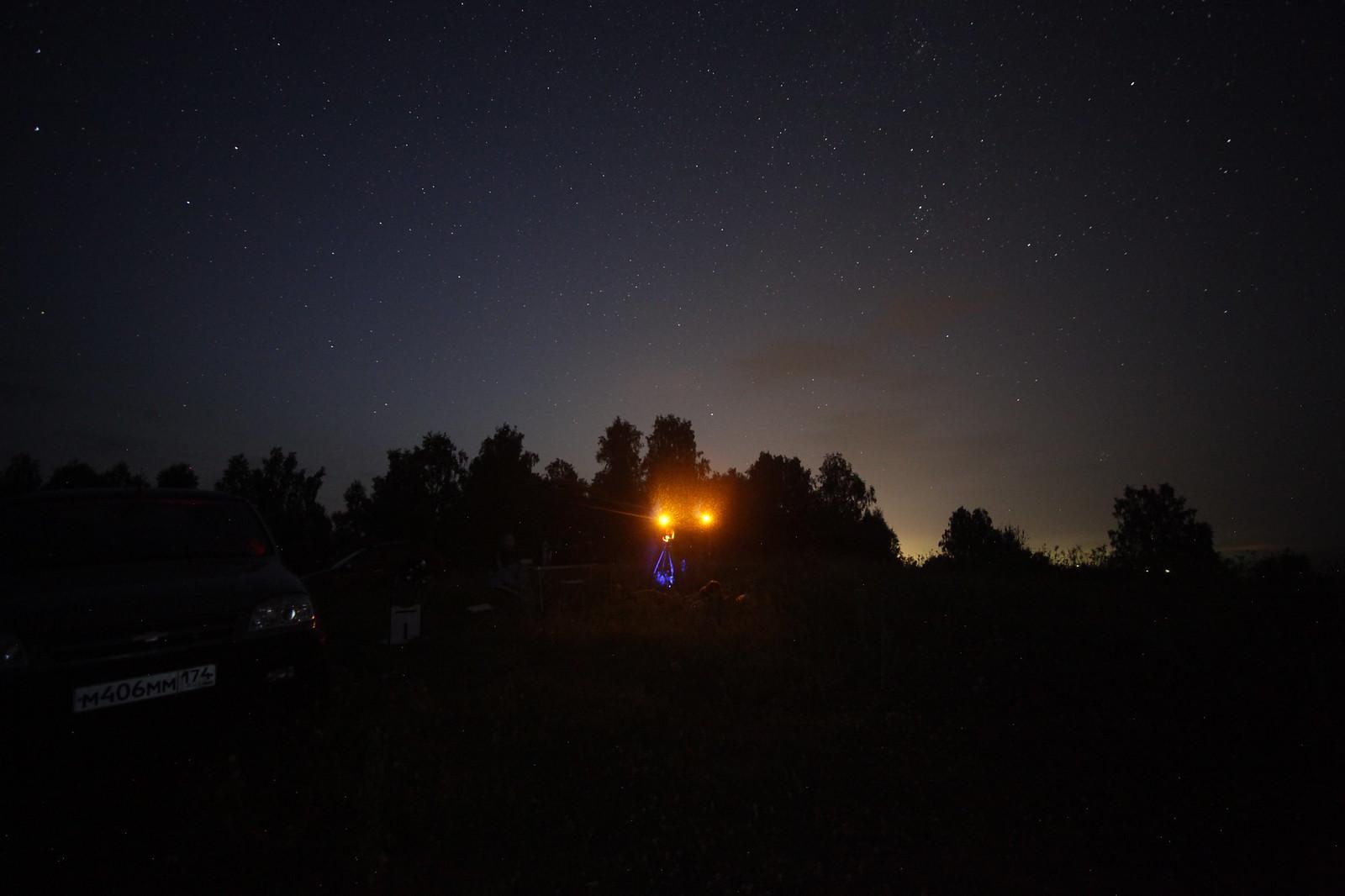 Наблюдение затмения