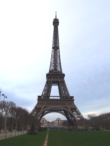 view of most famous landmark in the world