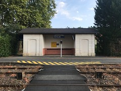 Castillon-la-Bataille: la gare - Photo of Pujols