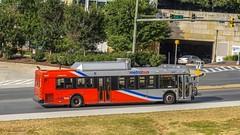 WMATA Metrobus 2006 New Flyer DE40LFR #6047