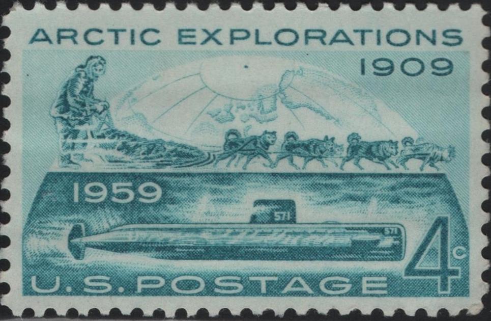 United States - Scott #1128 (1959)