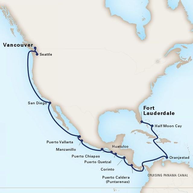 A Cruise Itinerary