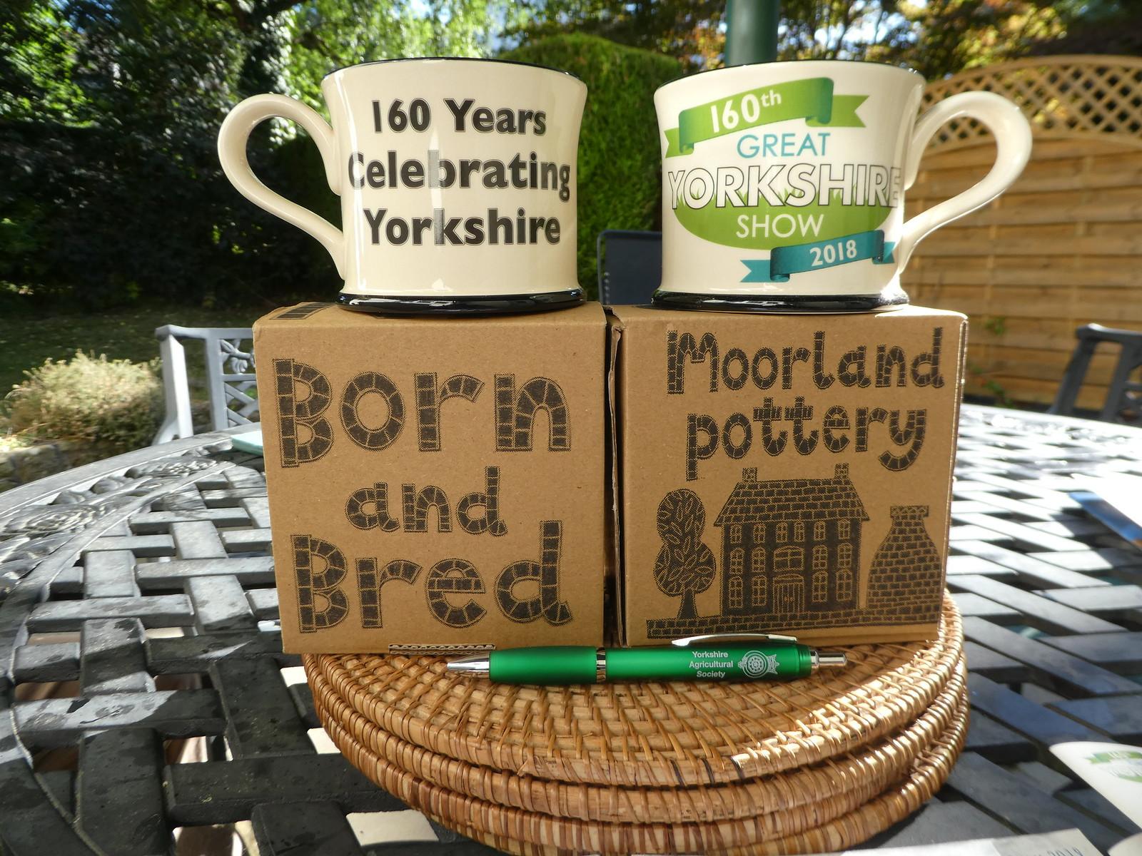 Moorland Pottery Souvenirs Great Yorkshire Show, Harrogate