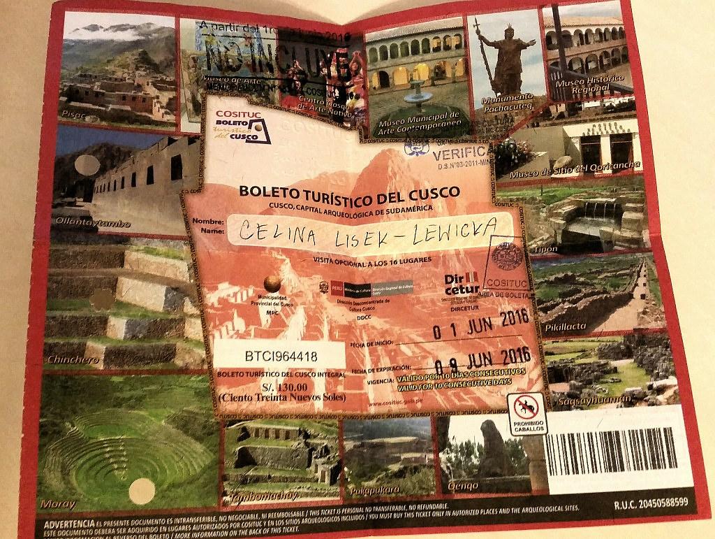 Bilet kombo General Boleto Turistico