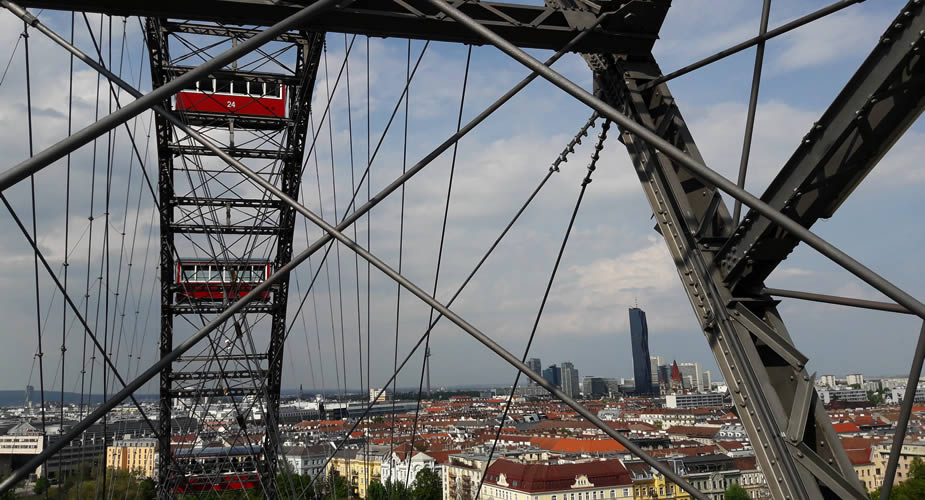 Fietsen in Wenen, fietsen in het Prater in Wenen | Mooistestedentrips.nl