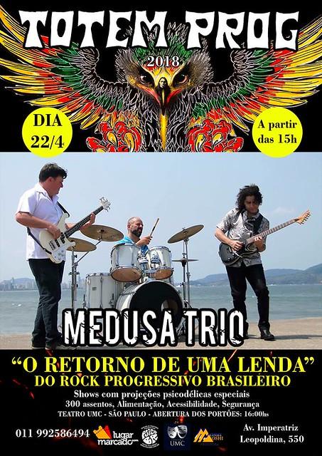 Medusa Trio + Robertinho de Recife ao vivo