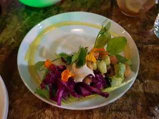 Raw Taco at Greenhouse South Brisbane